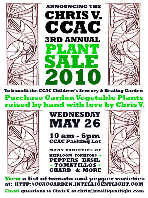 Plant Sale May 26, 2010