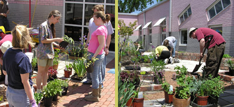 May 2005: First Volunteer Planting Day